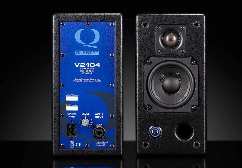 评估-请求V2104双频有源监听扬声器