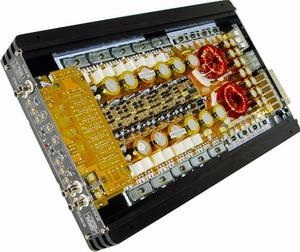 广州戈顿电子有限公司 戈顿汽车功放 xp 906 ab 6路功放高清图片