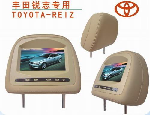 丰田10年款锐志专用头枕显示器