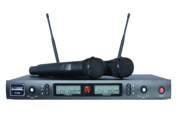 U段200信道双路无线话筒Joshua TU-2300