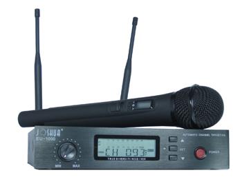 U段100信道分集无线话筒Joshua EU-1000