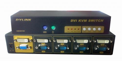 陕西咸阳4口双显示器KVM切换器