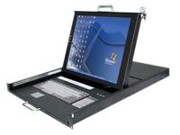 陕西西安17寸16口四合一LCD-KVM液晶控制平台XL-1716