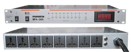 广州伟荣电器:MPA-08A