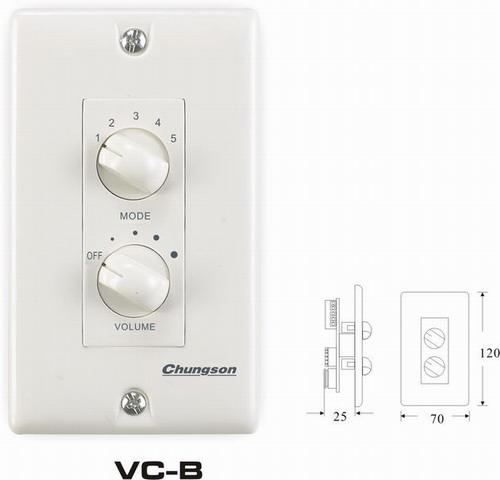 音量控制器   VC-B图