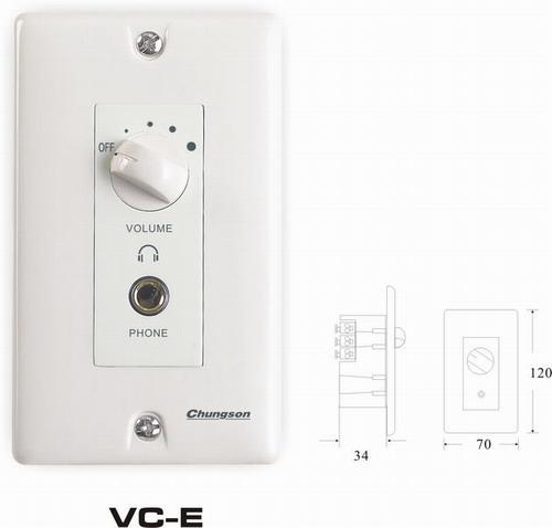 音量控制器   VC-E图