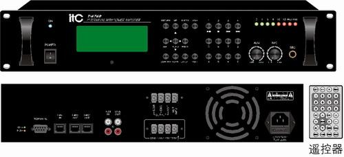 IP网络适配器(机柜式带功放) T-6760/T-67120图