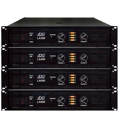 美国ADO发展集团(香港)有限公司:美国ADO LA-300 专业舞台纯后级功放 300W+300W