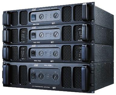 美国ADO发展集团(香港)有限公司:美国ADO MA-350 专业舞台纯后级功放 350W+350W