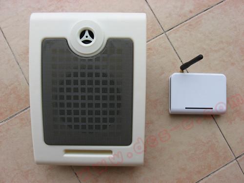 无线有源会议喇叭 无线壁挂音箱 15W无线带功放音箱