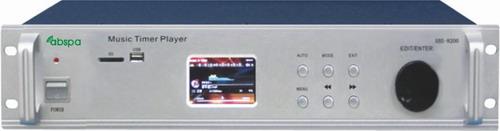 佛山市艾比声电子科技有限公司:ABS-8200,艾比声背景音乐智能播放主机