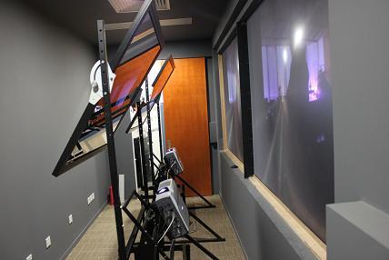 SVD背投反射系统
