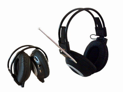 郑州市金豫华电子有限公司:SC-101调频无线耳机