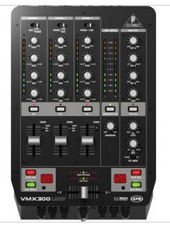 百灵达 PRO MIXER VMX300USB DJ 调音台