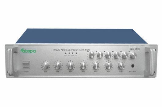 佛山市艾比声电子科技有限公司:艾比声6分区独立音量控制功放机 ABS-380C