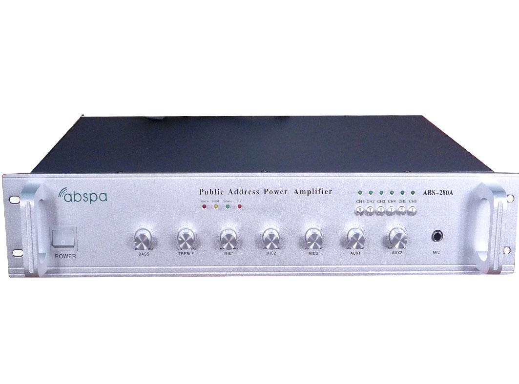 佛山市艾比声电子科技有限公司:合并式功放 ABS-280A