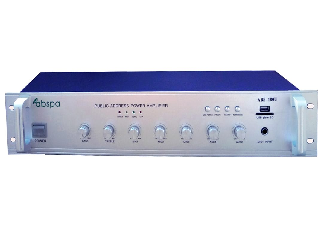佛山市艾比声电子科技有限公司:艾比声定压功放 ABS-120U