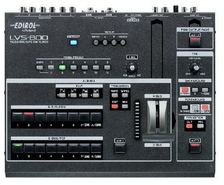 广州市亚歌电声设备有限公司:罗兰Roland Edirol LVS-800 VJ现场视频切换台