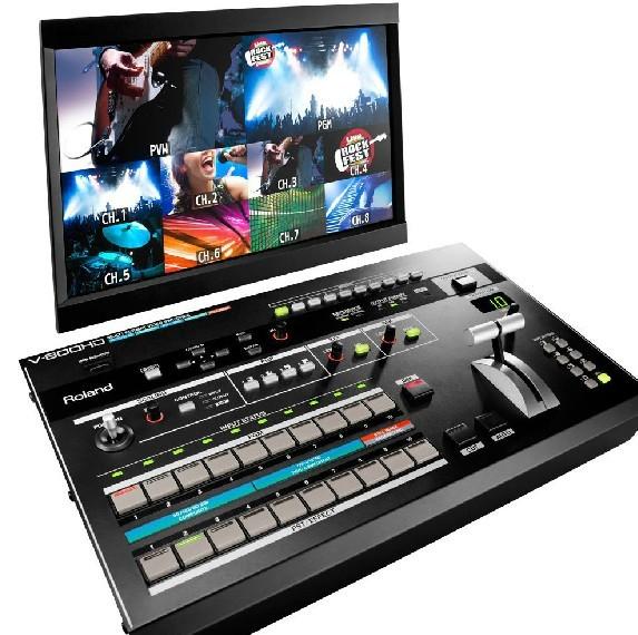广州市亚歌电声设备有限公司:罗兰Roland V-800HD 多格式高清切换台