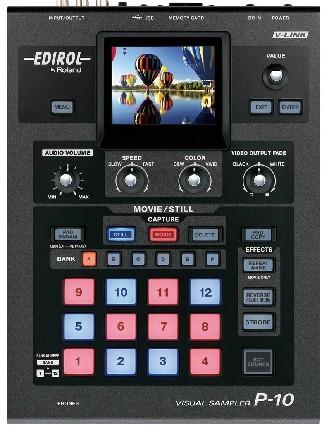 广州市亚歌电声设备有限公司:罗兰Roland Edirol P-10 VJ视频采样机