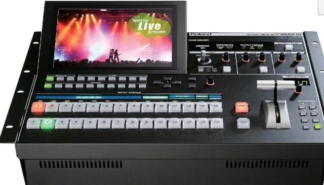 广州市亚歌电声设备有限公司:罗兰Roland V-1600HD 多格式高清视频切换器