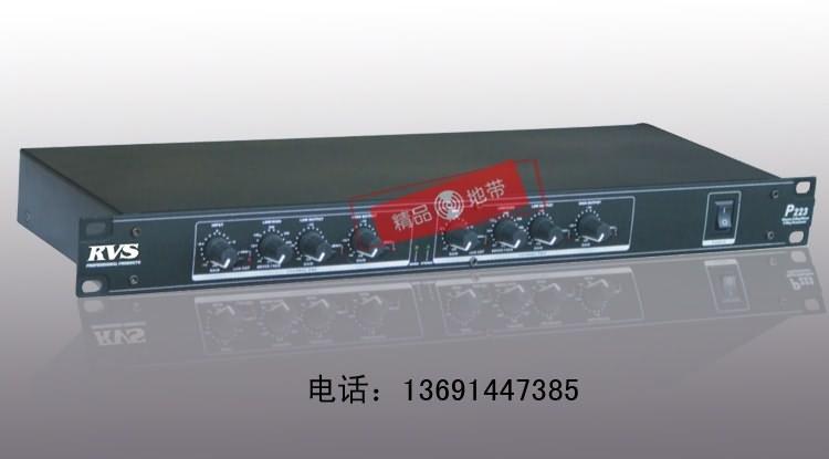 北京精品地带音响设备有限公司:RVS P223分频器2路立体声/3路单声电子分频 音箱分频器