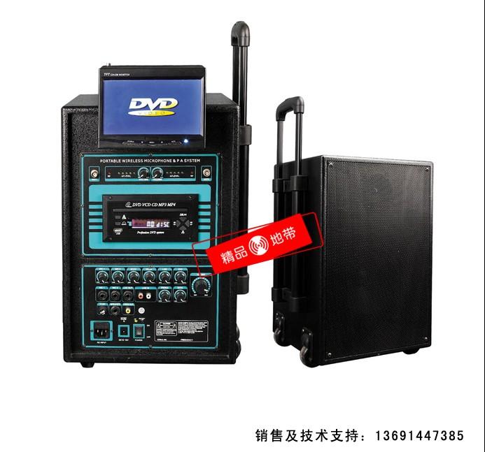 北京精品地带音响设备有限公司:KEDN KN-680TV有源便携式户外音箱