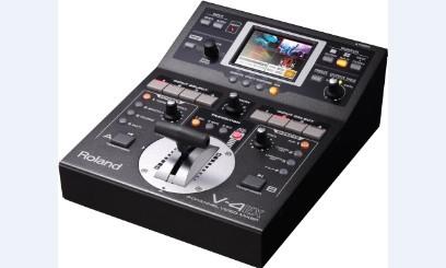 广州市亚歌电声设备有限公司:罗兰Roland V-4EX 多格式视频切换台