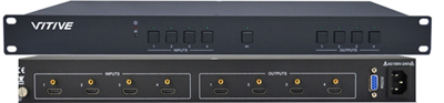 VITIVE威达:VT-HDMI0404高清矩阵