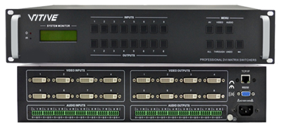 VITIVE威达:VT-DVI0802/04/08A高清矩阵