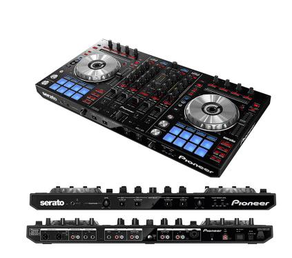 广州市亚歌电声设备有限公司:先锋DDJ-SX二代DJ控制器附带点击垫神器