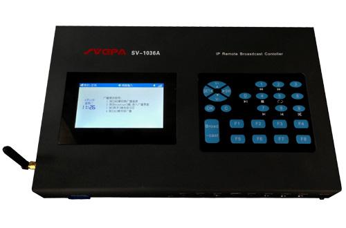 广州英西电子科技有限公司:SVCPA 索威仕SV-1036A  IP网络远程播控器