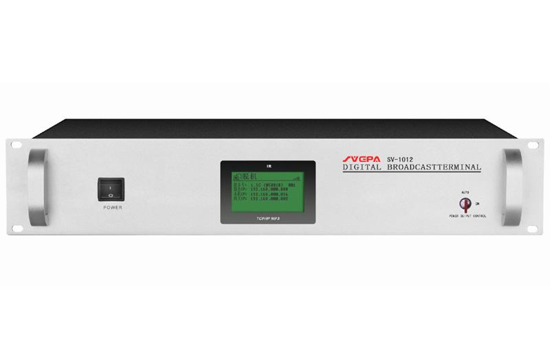 SVCPA 索威仕SV-1012  机柜式IP网络音频终端