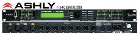 广州市亚歌电声设备有限公司:雅士尼ASHLY 4.24C 4进8出专业数码音频处理器