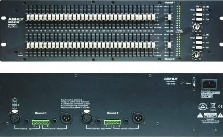 广州市亚歌电声设备有限公司:ASHLY 雅士尼 GQX3102 双31段图示均衡器