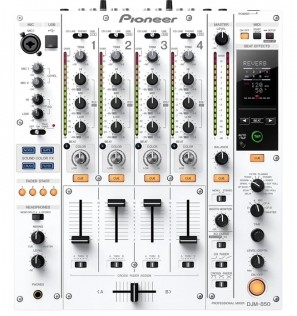 广州市亚歌电声设备有限公司:先锋DJM850白色的DJ混音台