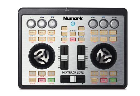 广州市亚歌电声设备有限公司:NUMARK MIXTRACK EDGE超便携专业DJ控台