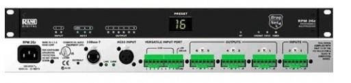 广州市亚歌电声设备有限公司:莱恩 RPM26Z 专业集成数字合成处理器