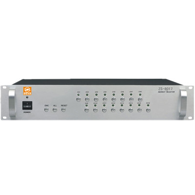 ZD-8017 受控十六路信号分配器