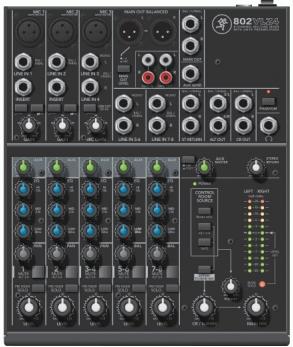 RunningMan 美奇802VLZ4 8路紧凑型调音台图