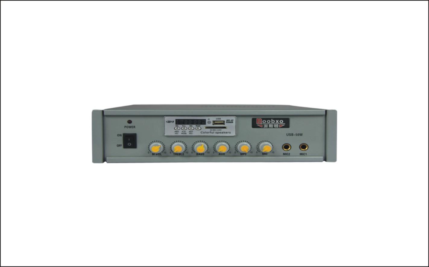 USB-50W背景音乐系统功放