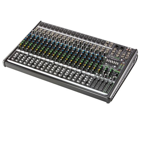 山东美音美视信息技术有限公司:RunningMan调音台:ProFX22v2 /22通道4总线调音台