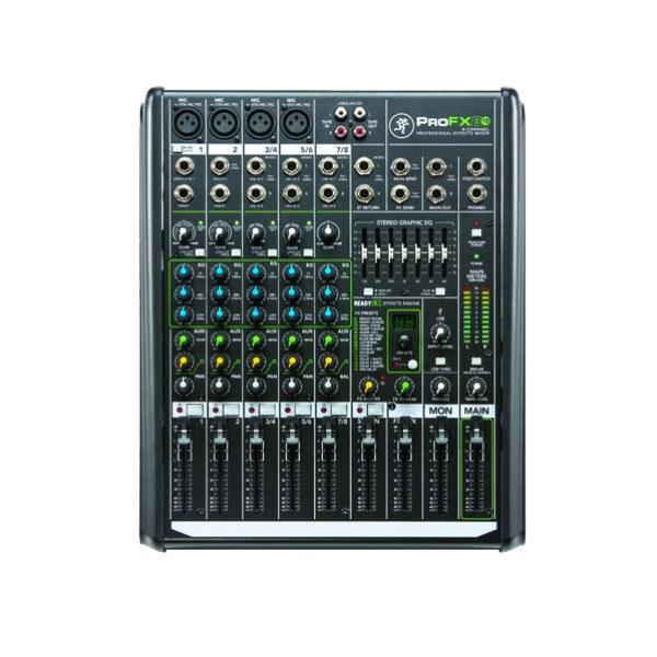 山东美音美视信息技术有限公司:RunningMan调音台:ProFX8v2 /8通道专业调音