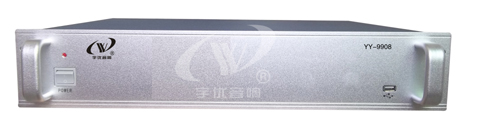 IP网络广播前置终端/YY-9908