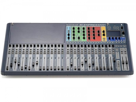 广州市亚歌电声设备有限公司:声艺 Si Expression 3-32路数字调音台