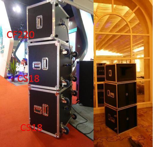 广州奈声电子有限公司:远程号角远程音箱CF220+CS18