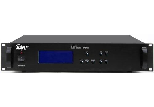 数控前置音频矩阵:H-6611