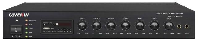 VEKIN(威康)带收音机/MP3合并式功率放大器 VK-70PMF VK-120PMF VK-240PMF VK-36