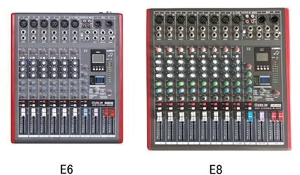 VEKIN(威康)E系列调音台--E6 E8 E12 E16 (2016年升级版)