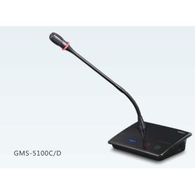 Gestton /捷思通:GMS-5100D数字会议代表单元